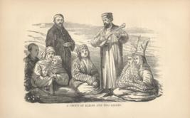 A Group Of Kirgis And Two Brides