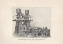 Ammonia Compressor Driven By Tandem Compound Corliss Engine
