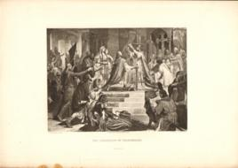 The Coronation Of Charlemagne At Rome