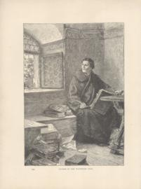 Luther In The Wartburg Cell