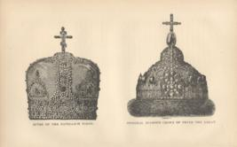 Mitre Of The Patriarch Nikon And Original Diamond Crown Of The Peter The Great
