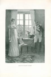Louise and Napoleon at Tilsit